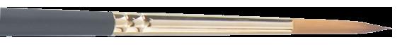 611  Aquarellpinsel, Synthetichaar,