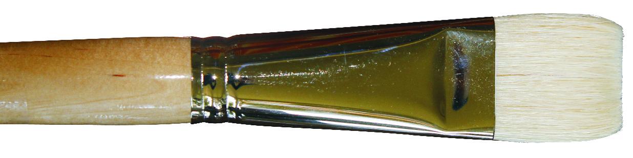 631  Ölmalpinsel, flach